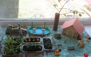 Огород в детском саду