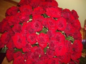 Сколько роз дарить девушке