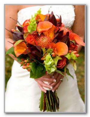 Значение цветов в свадебном букете